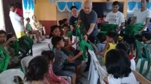 Bags and School Kits distribution at International Baptist Church in Calapandayan Subic Zambales (5)