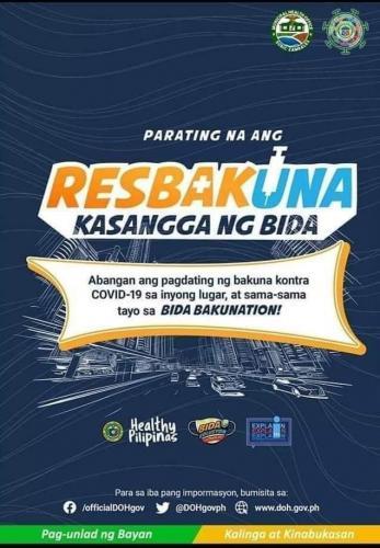Patuloy ang Pagbabakuna ng Covid 19 Vaccines para sa ating Medical Frontliners (May 6,2021)