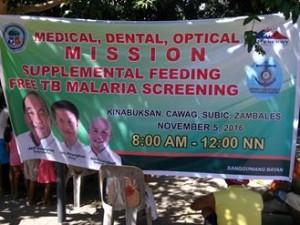 Medical,dental,Optical Mission with Supplemental Feeding and TB malaria Screening at Sitio Kinabuksan Cawag Subic...Tuloy Tuloy Ang Pagtulong