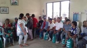 Pamaskong handog Sa Senior Citizen NG Barangay Batiawan mula Kay Cong Jeffrey Khonghun,Mayor Jay Khonghun at Bm Jon Khonghun